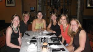 A few of us at Casa Mia.